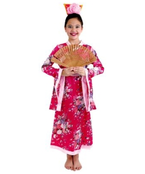 Japanese Geisha Kids Costume