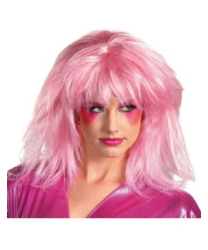 Jem and the Holograms Jem Pink Adult Wig