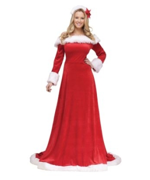 Lady Santa Women's Costume