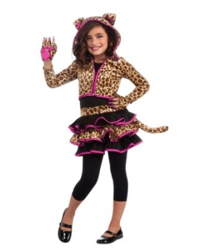 Leopard Girls Costume