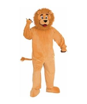 Lion Mascot Suit Adult Costume