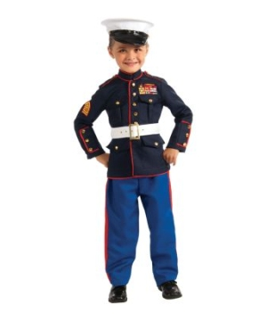 Marine Dress Blues Kids Costume