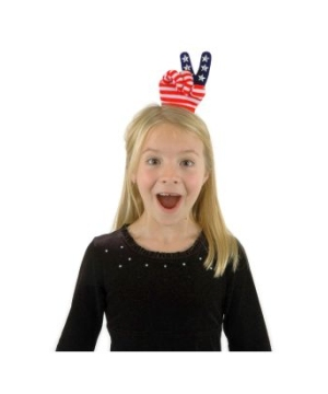 Mini Peace Hand Kids Hat