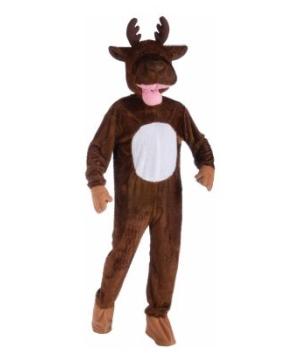Moose Mascot Adult Costume