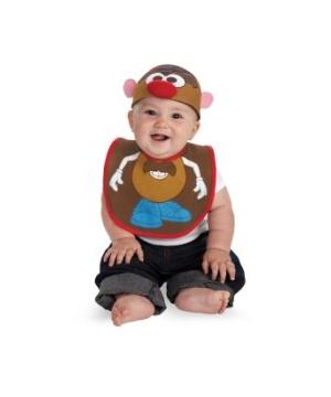 Mr Potato Head Bib Baby Costume