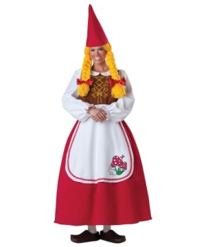 Mrs Garden Gnome Women Costume