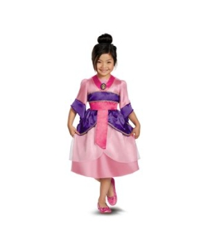 Mulan Sparkle Disney Girls Costume