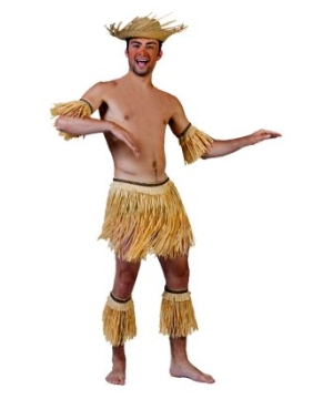Hawaiian Native Adult Costume