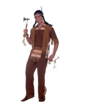 Native American Brave Men Costume