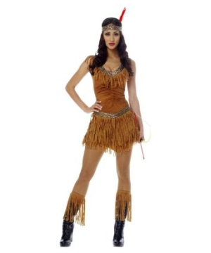Native American Maiden Costume - Adult Indian Costume