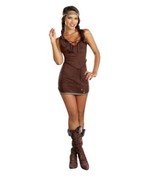 Sexy Native Beauty Adult Costume