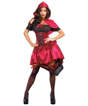 Naughty Little Red Riding Hood Adult Costume deluxe
