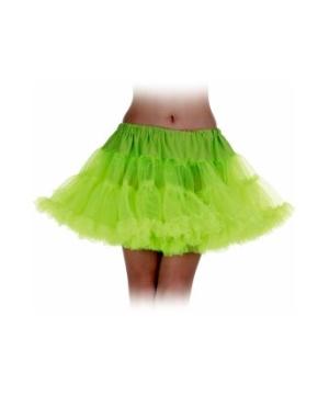 Neon Green Petticoat Adult Tutu