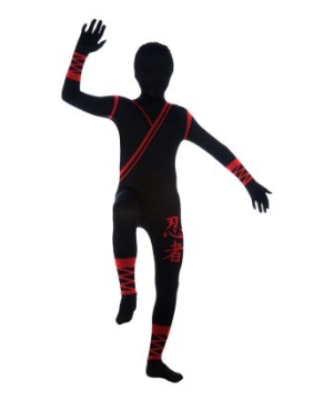 Ninja Skin Suit Kids Costume