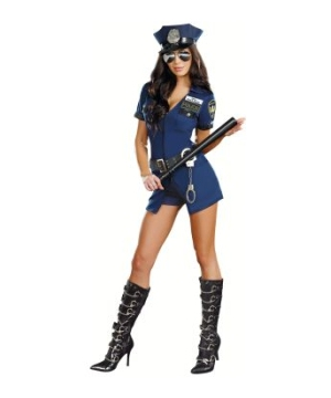 officer naughty women costume