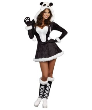 Panda Bear Baby Adult Costume