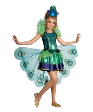 Peacock Kids Costume