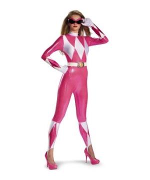 Pink Ranger Sassy Women Costume