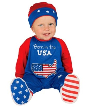 Pint size Patriot Baby Costume