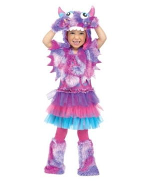 Polka Dot Monster Girls Costume