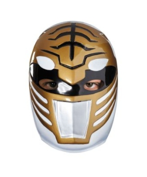 Power Rangers White Ranger Vacuform Mask