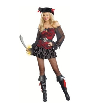 Precious Booty Pirate Adult Costume deluxe