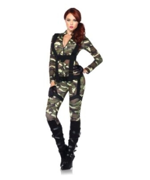 Pretty Paratrooper Women Costume