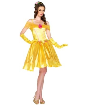 Princess Belle Womens Costume