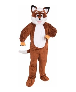 Promotional Fox Mascot Adult Costume