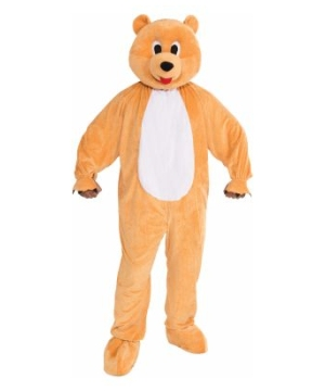 Promotional Honey Bear Mascot Adult Costume
