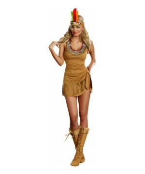 Queen of the Tribe Women Costume deluxe
