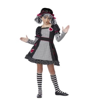 Rag Doll Party Girls Costume
