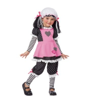 Rag Dolly Kids Costume
