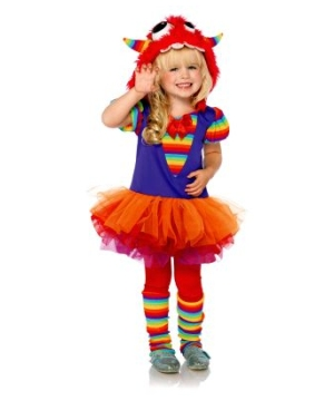 Rainbow Monster Toddler Costume