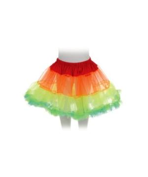 Rainbow Petticoat Kids Tutu