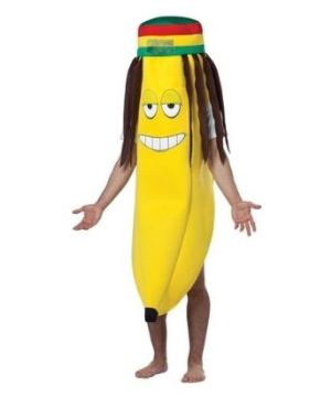 Rasta Banana Adult Costume