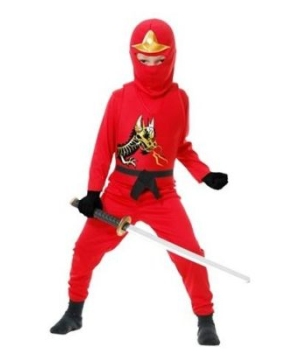 Red Ninja Avengers Series Ii Toddler/boys Costume