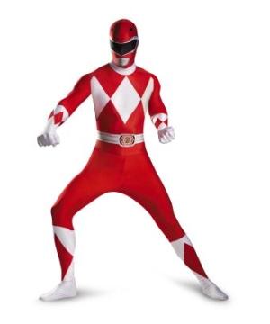 Red Power Ranger Kids Costume