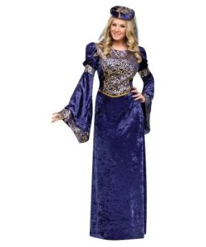 Renaissance Maiden Velvet Women Costume