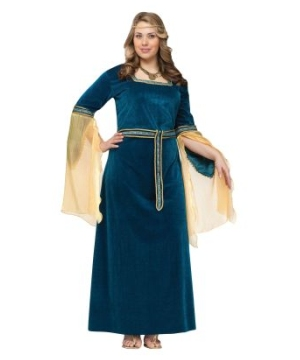 Renaissance Princess Women plus size Costume