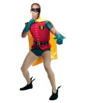 Robin Comic Adult Costume Theatrical