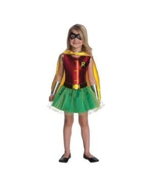 Robin Tutu Girls Costume