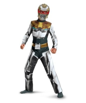 Robo Knight Megaforce Power Ranger Boys Costume