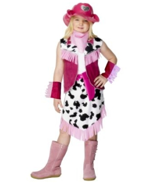 Rodeo Girl Kids Costume