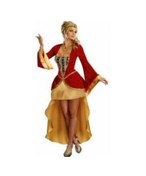 Royally Yours Queen Adult Costume deluxe
