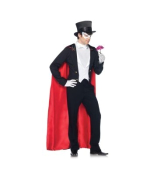Sailor Moon Tuxedo Mask deluxe Adult Costume