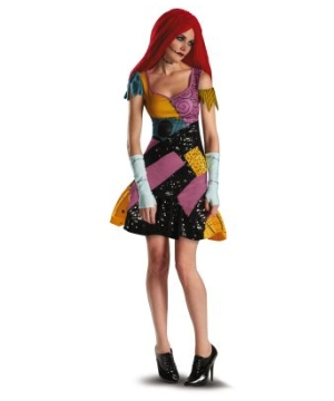 Sally Glam Adult Costume
