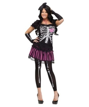 Sally Skelly Womens Costume