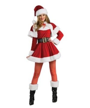 Santas Sexy Helper Adult Costume
