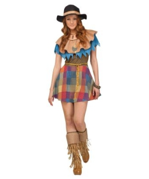 Sexy Scarecrow Women Costume